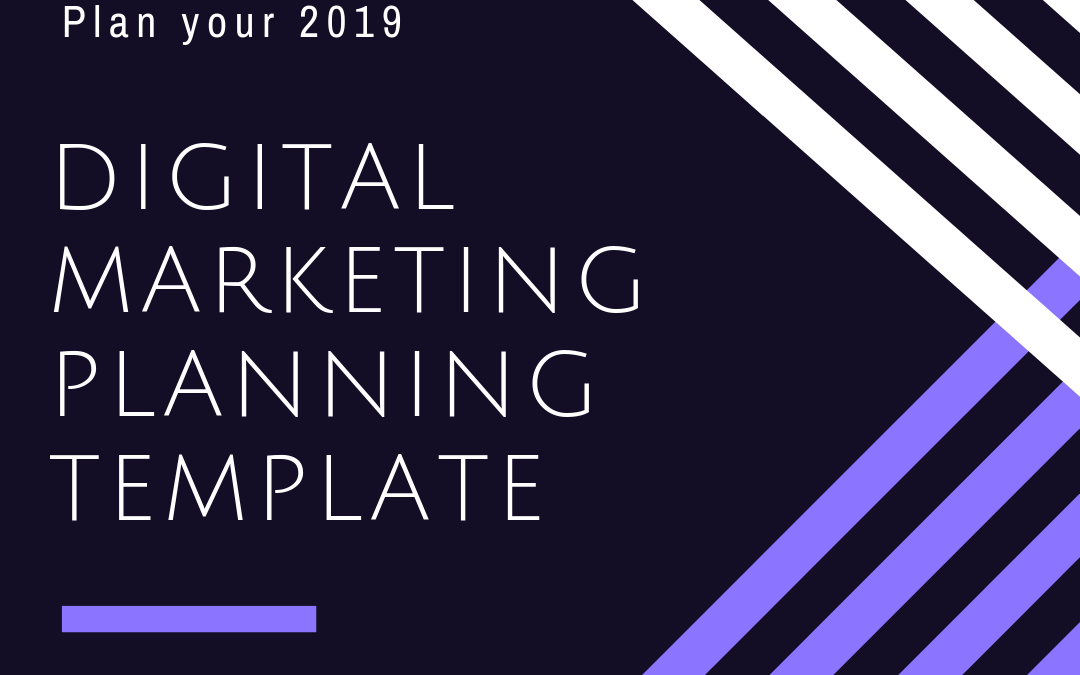 FREE Digital Marketing Yearly Planning Template